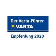 Zertifikat Varta - Parkhotel Nümbrecht