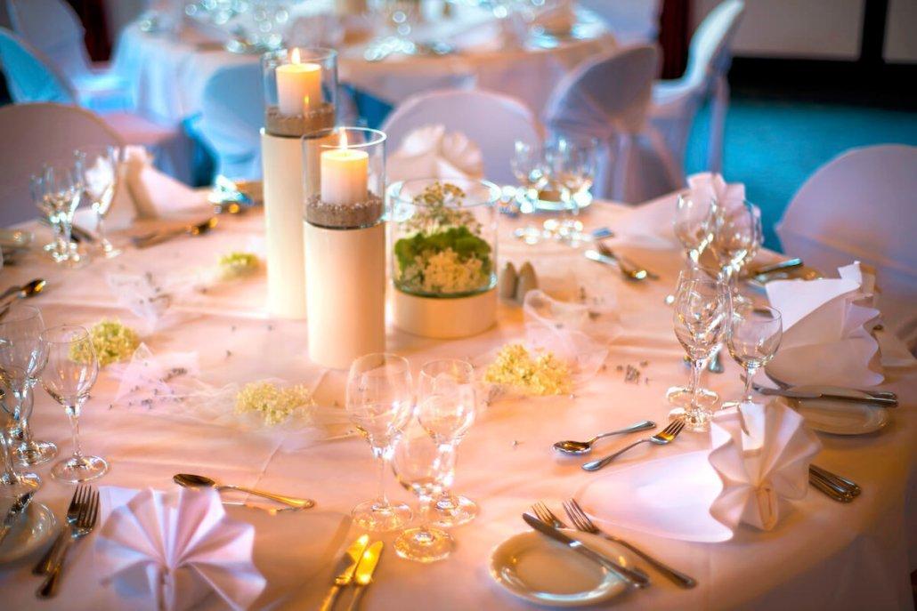 Tischdekoration Veranstaltung - Parkhotel Nümbrecht