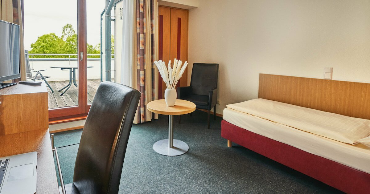 Aktiv Einzelzimmer in der Sportresidenz - Parkhotel Nümbrecht