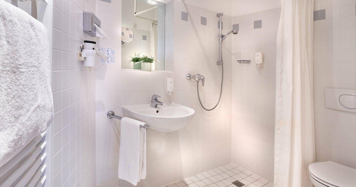 Badezimmer Aktiv Zimmer - Parkhotel Nümbrecht