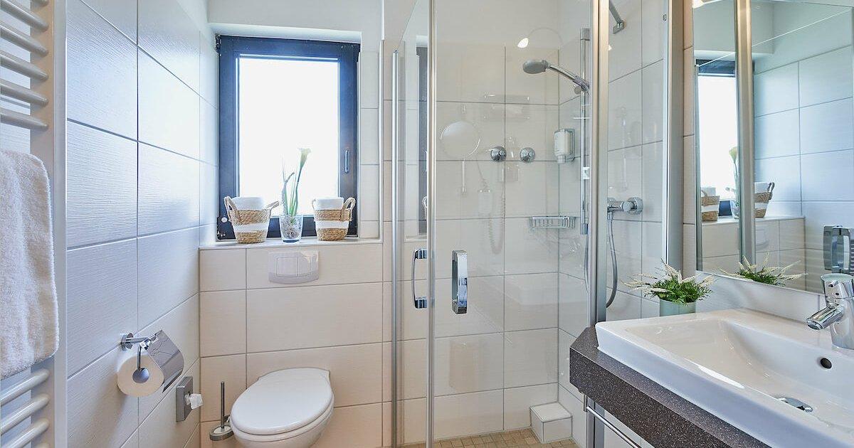 Badezimmer Superior Doppelzimmer - Parkhotel Nümbrecht
