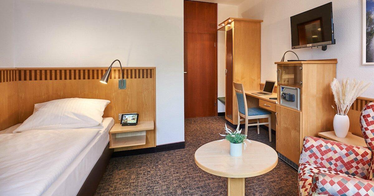 Classic Einzelzimmer - Parkhotel Nümbrecht
