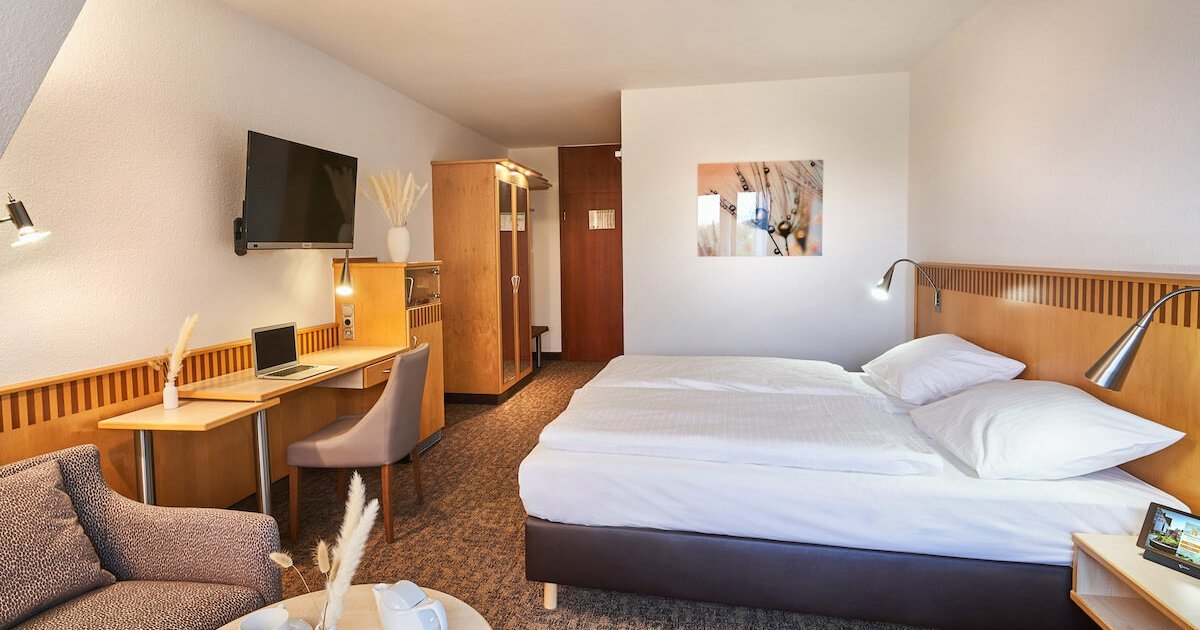 Comfort Doppelzimmer - Parkhotel Nümbrecht