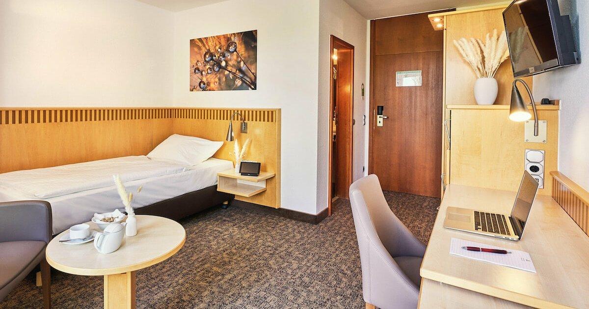 Comfort Einzelzimmer - Parkhotel Nümbrecht