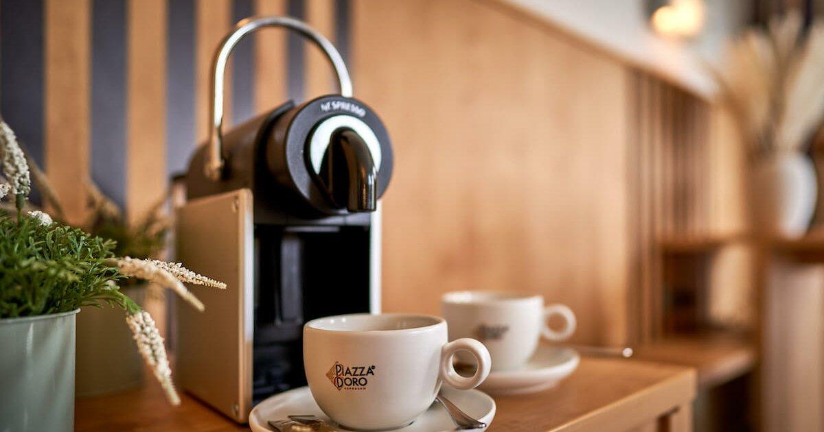 Kaffeemaschine Superior Doppelzimmer - Parkhotel Nümbrecht